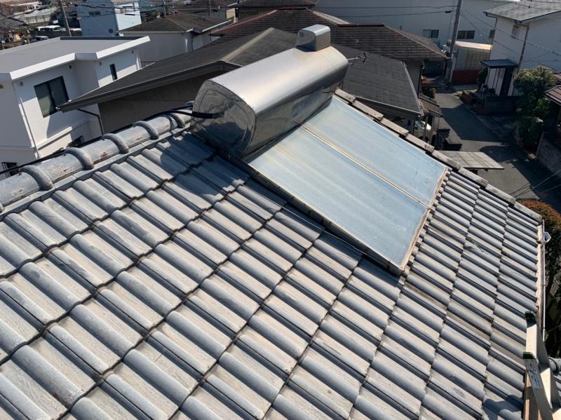 太陽熱温水器撤去を撤去しました!【和歌山市】/撤去実績 ソーラー撤去や修理で大阪、香川、太陽熱(天日)温水器の撤去ならイーロックホーム